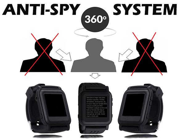 Anti-spy system