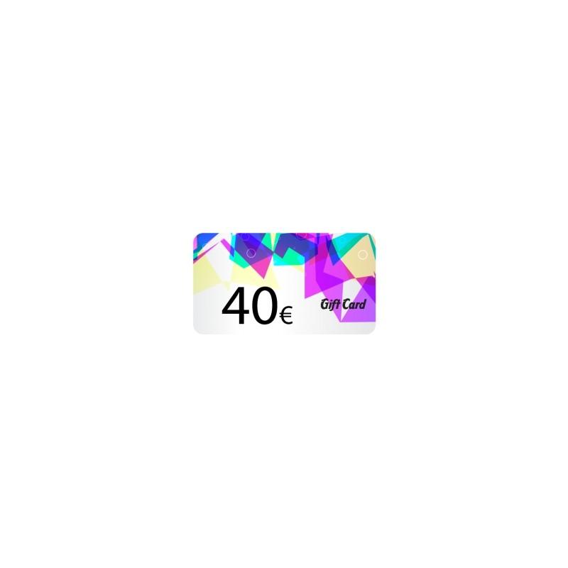 Tarjeta regalo 40