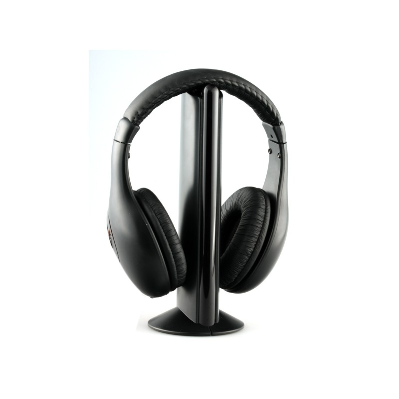 Wireless Stereo Headphone with FM Transmitter and Receiver