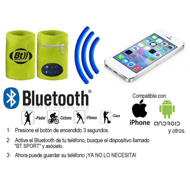 Muñequera Deportiva Bluetooth BTsport