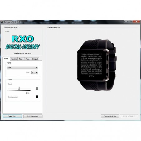 Software RXO v7.2