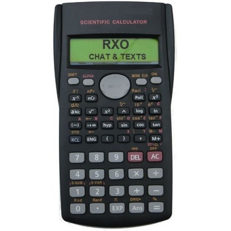 Cheating calculator RXO