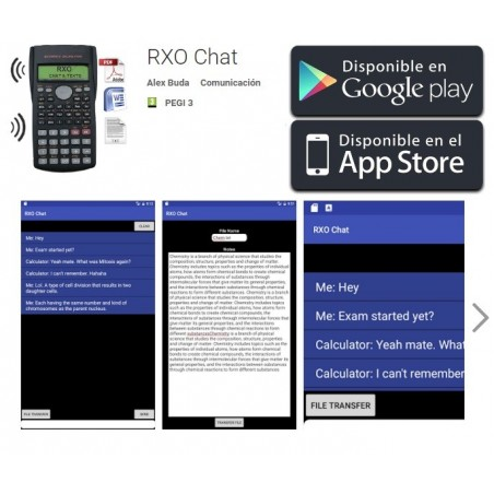 RXO Cheating scientific calculator