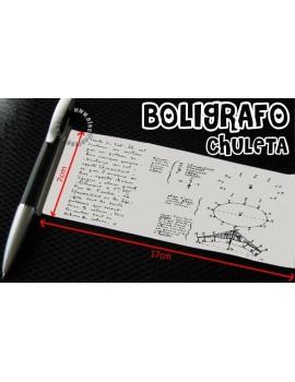 Boligrafo Chuleta