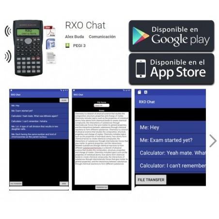 Calculadora chuleta RXO (científica)