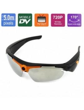 Gafas de Sol con Cámara 5MP 720p
