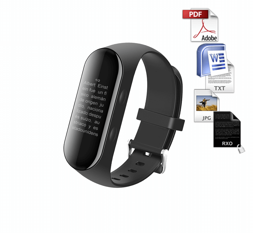 rxo smart band brazalete chuleta